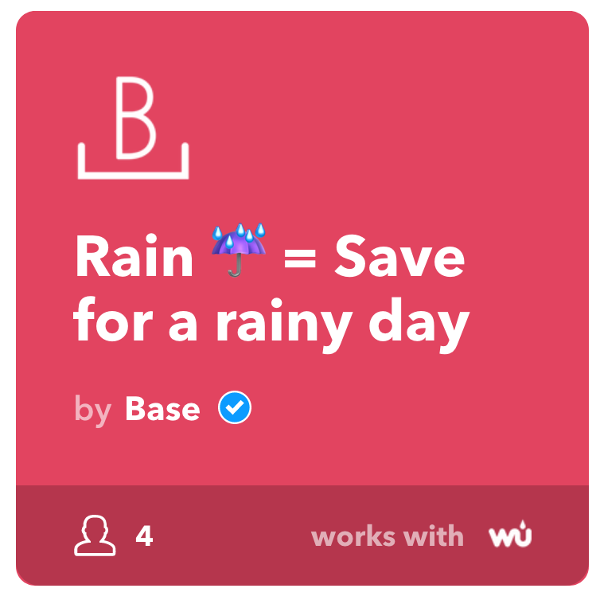 Rainy Save