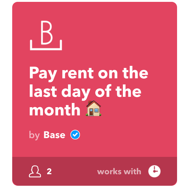 Monthly rent